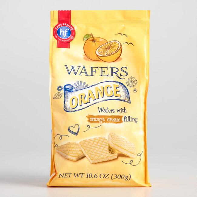 Hans Freitag Orange Wafer Cookies