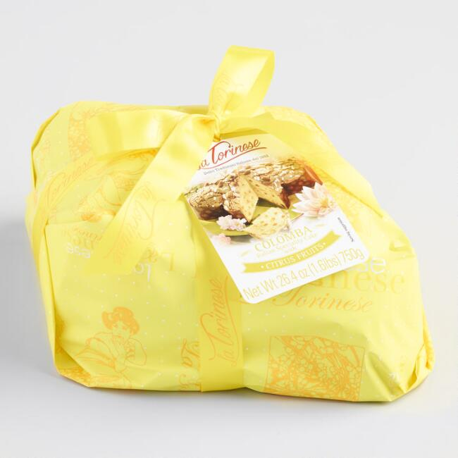 La Torinese Lemon Colomba Cake