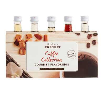 Monin Mini Coffee Collection Syrups 5 Pack