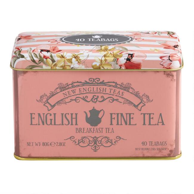 English Fine Tea Breakfast Tea 40 Count