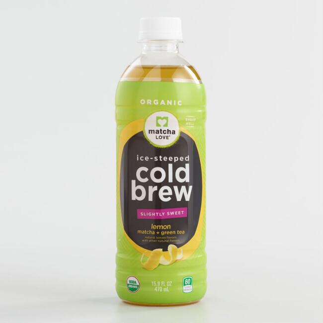 Organic Matcha Love Cold Brew Lemon Green Tea