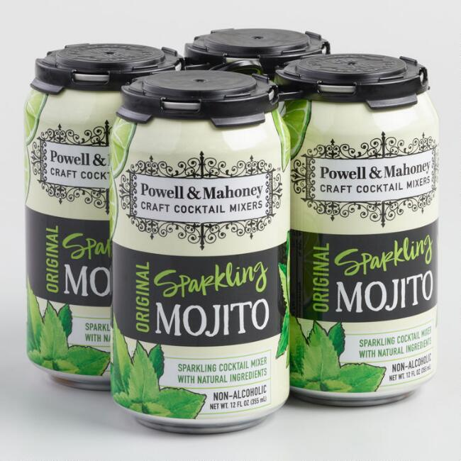 Powell and Mahoney Sparkling Mojito Mix 4 Pack