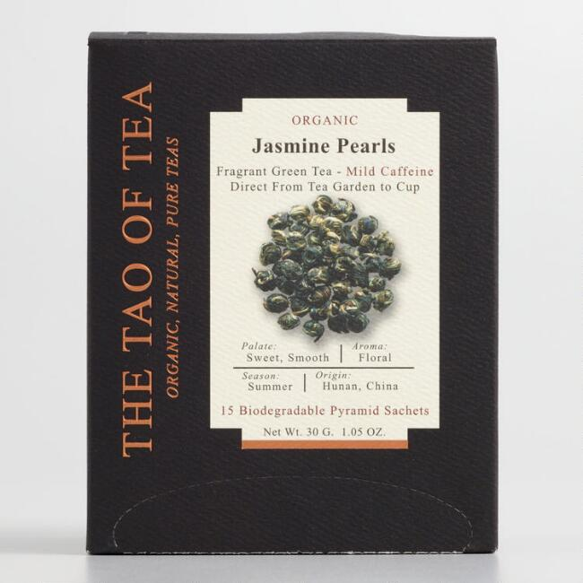 Tao of Tea Loose Leaf Jasmine Pearls 15 Count