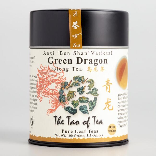 Tao of Tea Green Dragon Oolong Loose Leaf tea
