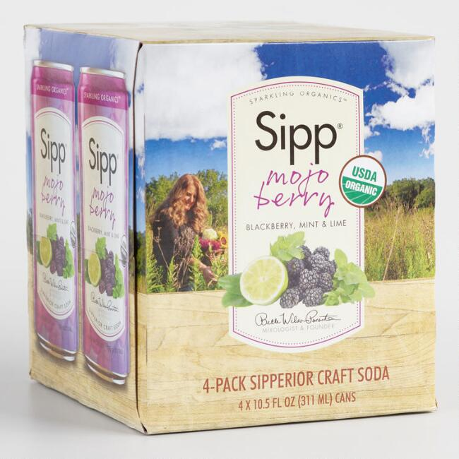 Sipp Mojo Berry 4 Pack