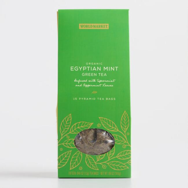 World Market® Origins Egyptian Mint Green Tea 15 Count