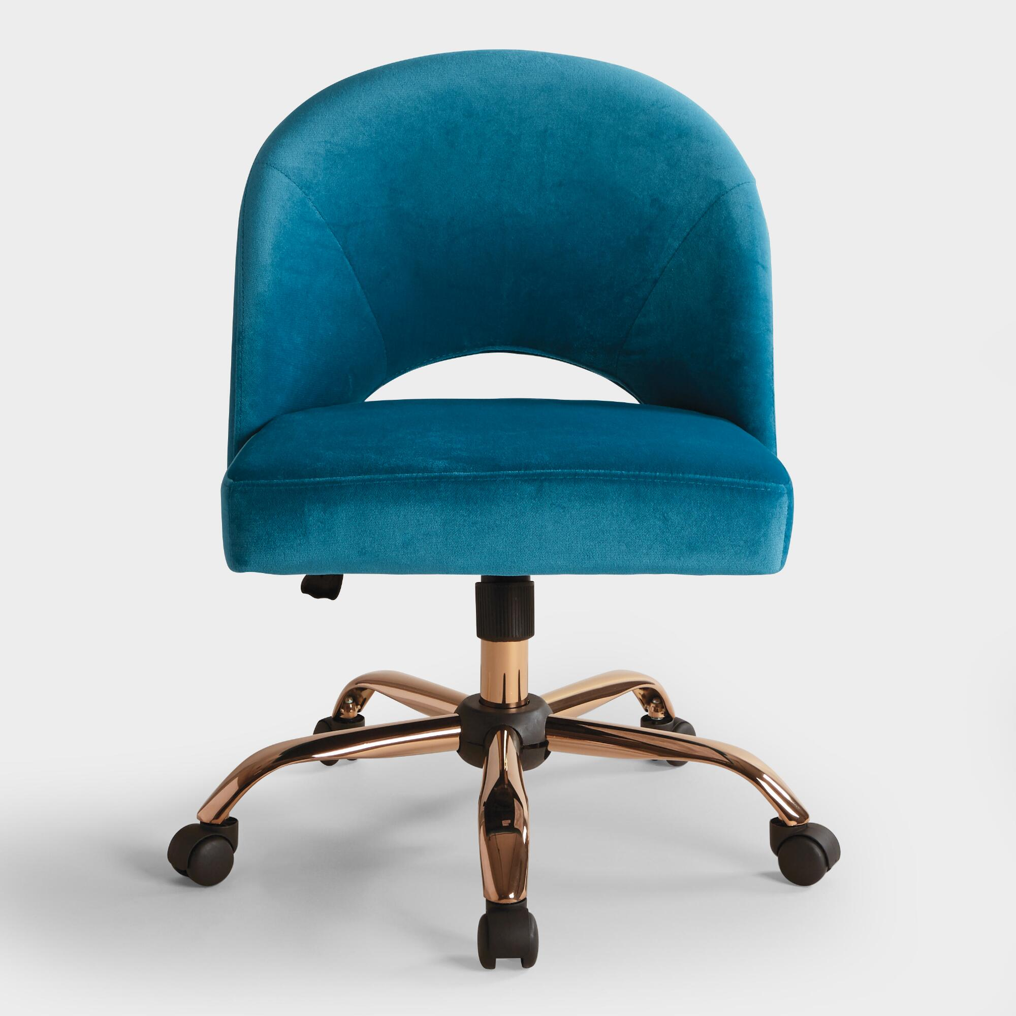 product aqua teal coup chair desk office chairish