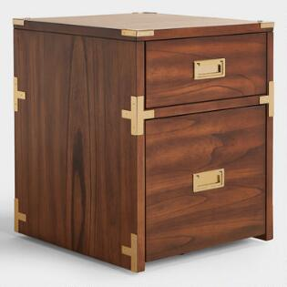 Home Office Furniture Desks Chairs World Market - Funky filing cabinets