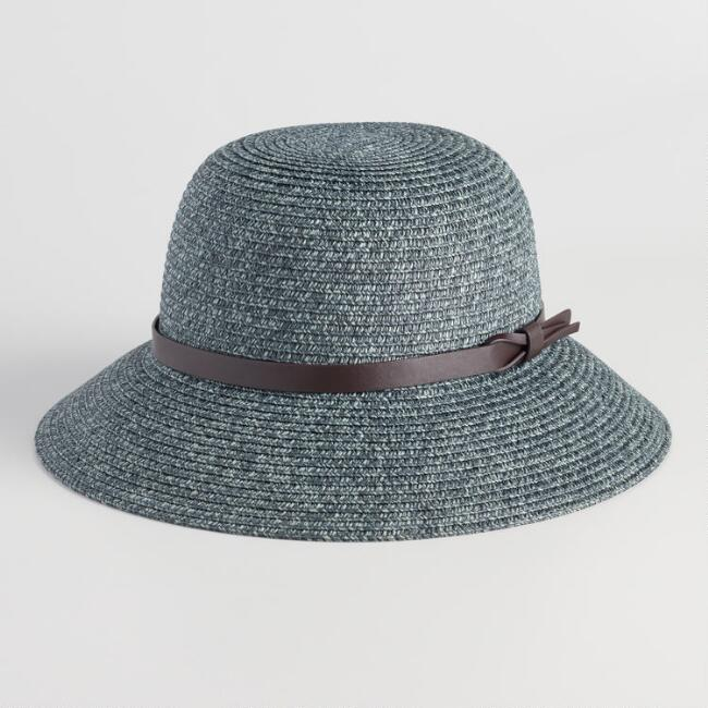 Blue and Green Sun Hat