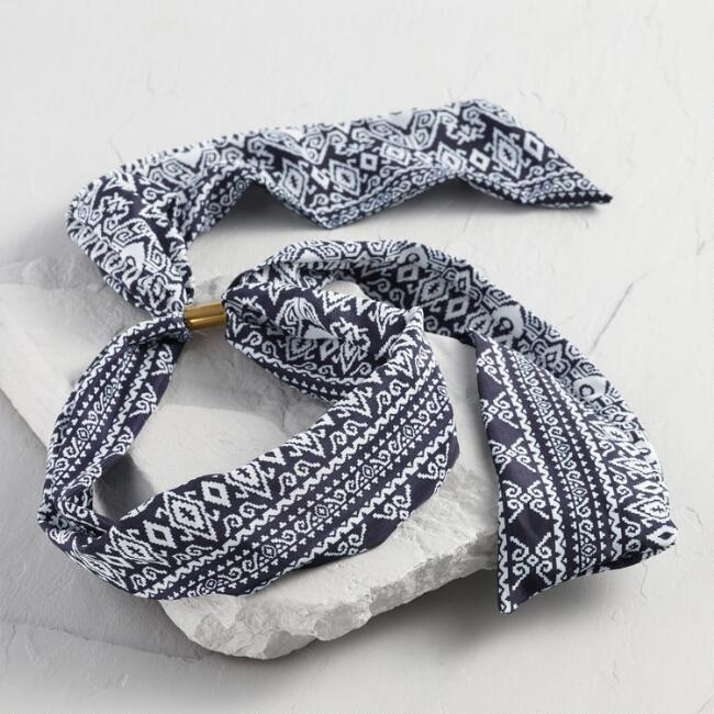 Indigo Blue 3 Way Headband