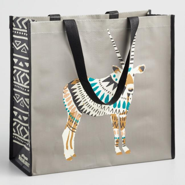 Large African Oryx Tote Bag