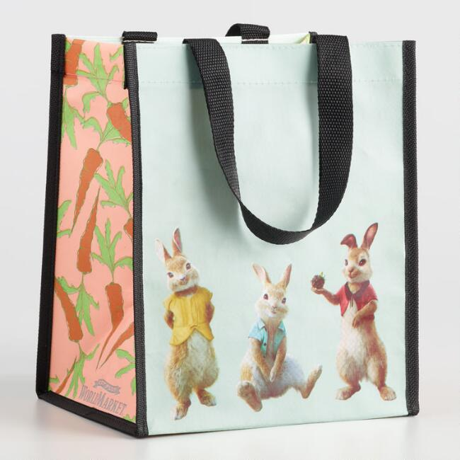Small Bunnies Tote Bags Set of 2