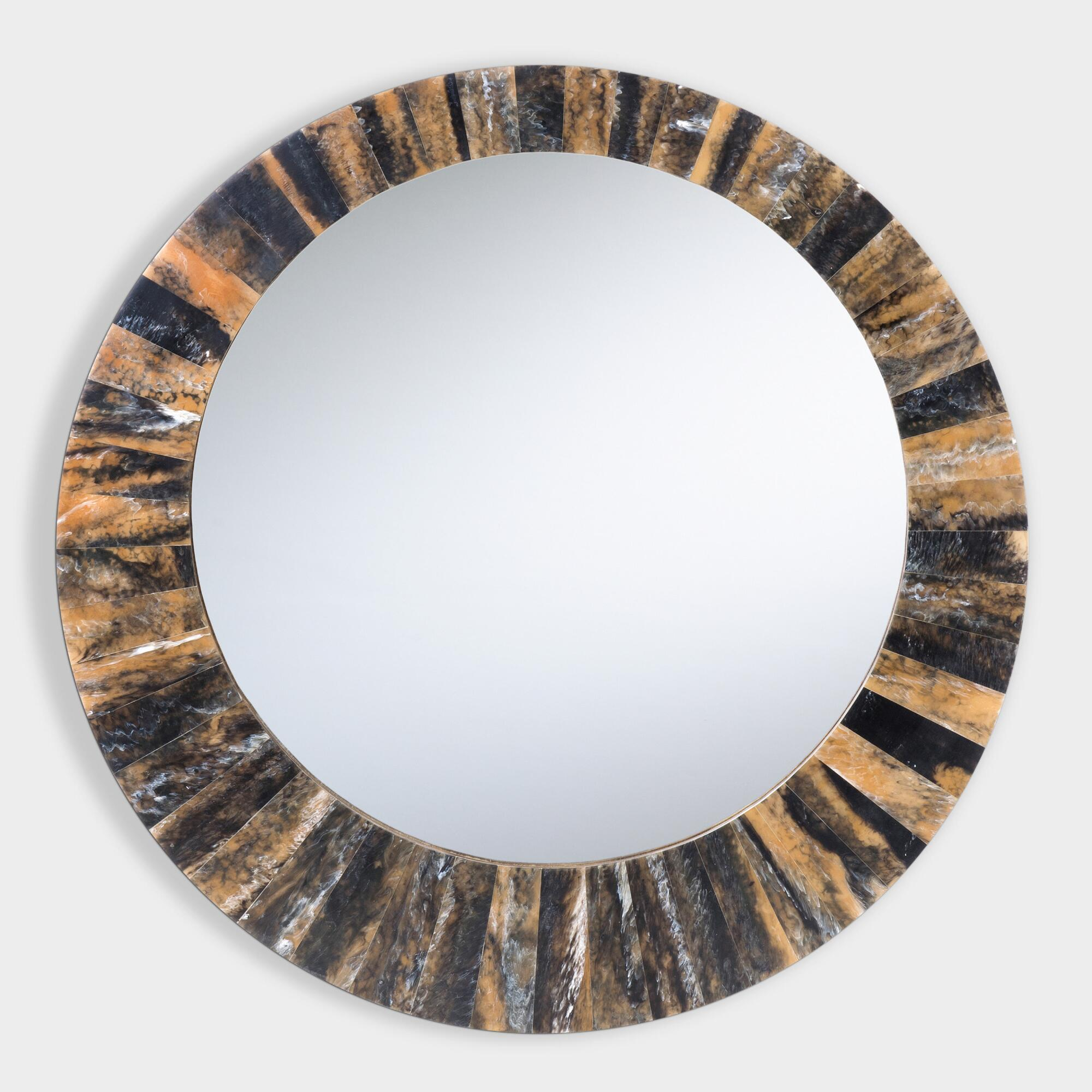 in bevel decor decoration oval circle fleurdelissf odelia mirror wonderland rc your snob nickel sterling mirrors bathroom brushed design and flossy high lights tempting