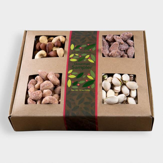 Mixed Nut Gourmet Gift Sampler Tray