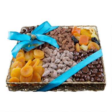 Monaco Collection Fruit and Nut Gourmet Sampler Tray