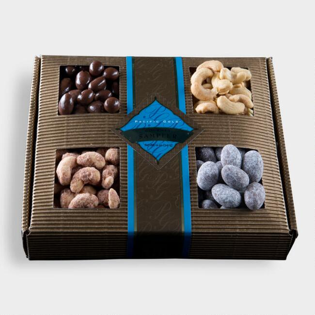 Monaco Collection Fruit and Nut Gift Sampler Tray