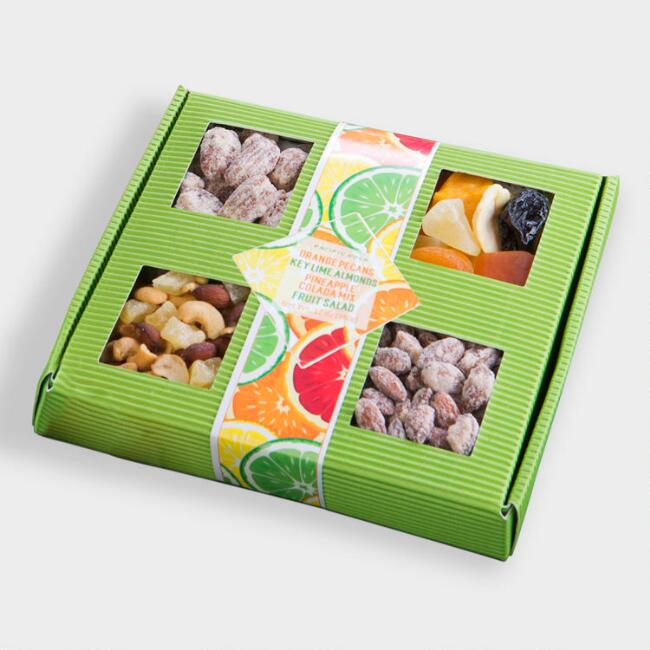 Key Lime Fruit and Nut Gift Tray