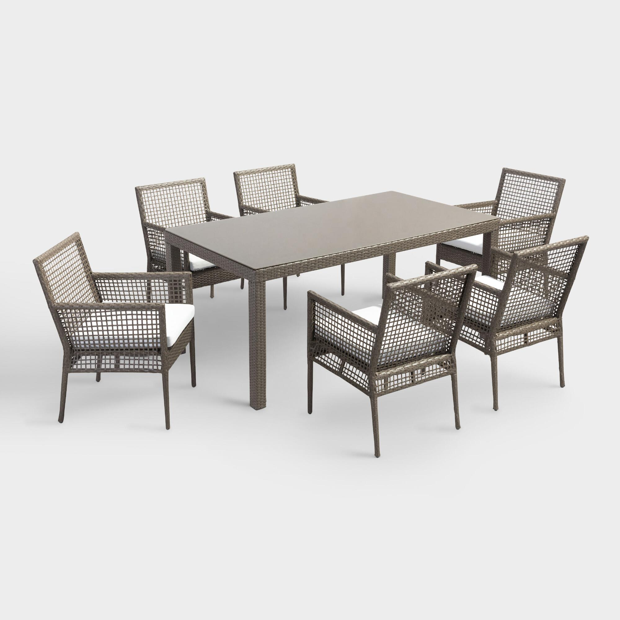All Weather Wicker Erich Outdoor Patio Dining Collection by World Market