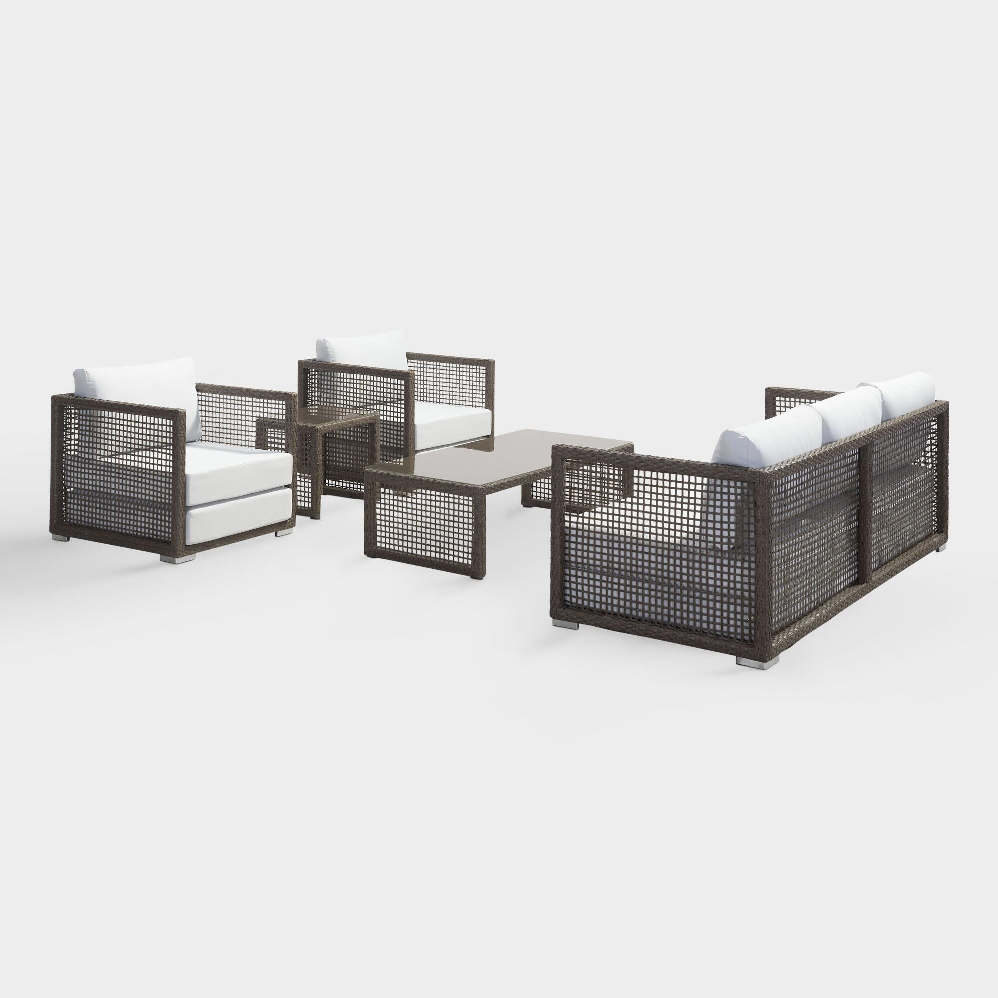 All Weather Wicker Erich Outdoor Patio Occasional Collection by World Market