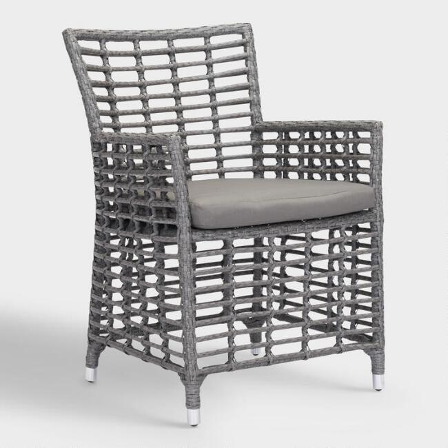All Weather Wicker Levante Outdoor Dining Armchair