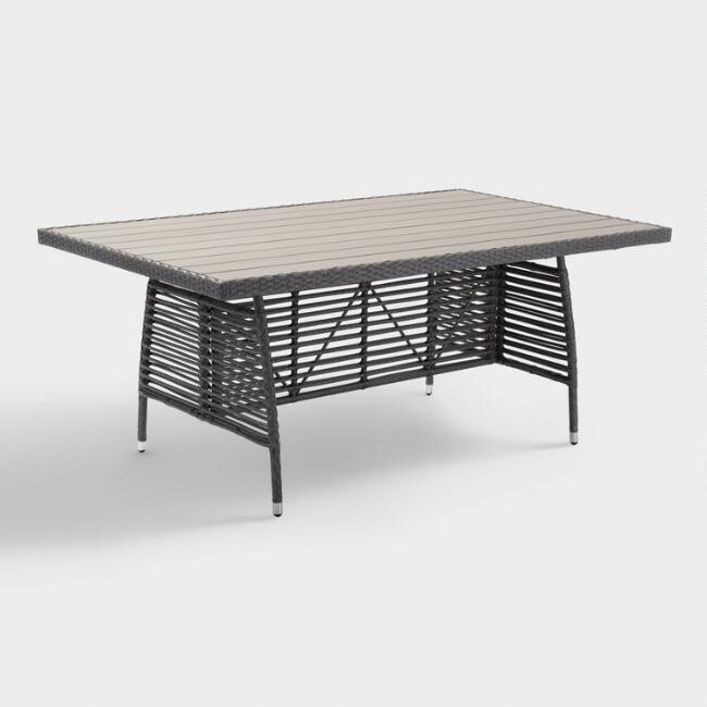 All Weather Wicker Levante Outdoor Dining Table