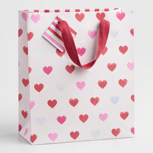 Medium Valentine's Day Gift Bags Set of 2