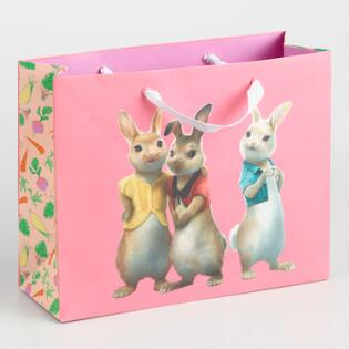 Gift bags gift boxes world market medium peter rabbit triplets gift bags set of 2 negle Choice Image