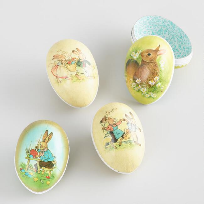 Extra Small Nestler Easter Eggs Set of 4