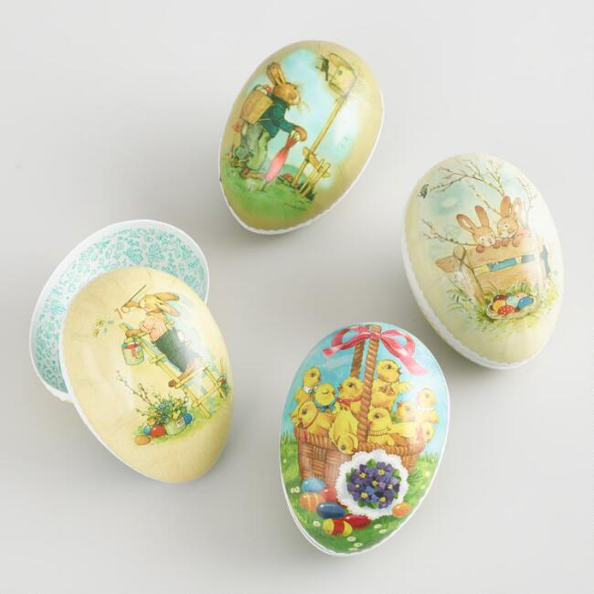 Small Nestler Easter Eggs Set of 4