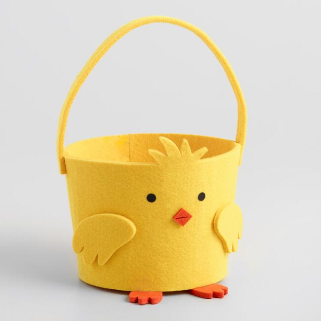 Chick Felt Basket