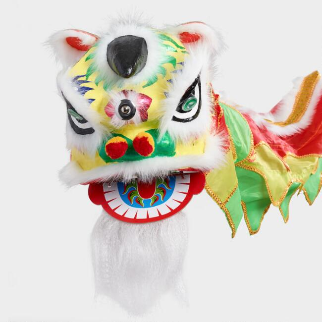 Chinese New Year Dragon Dance Head Decor