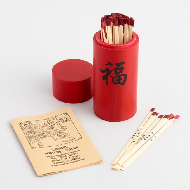 Chinese Fortune Sticks Game