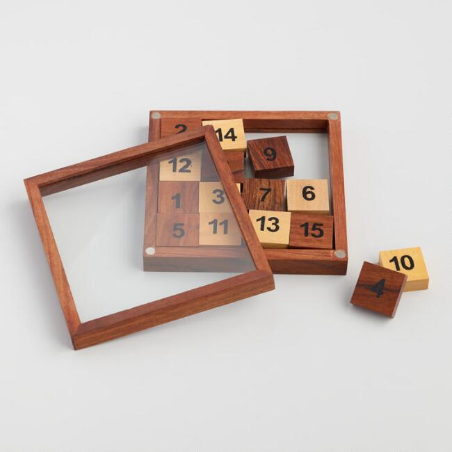 Natural Wood 15 Puzzle