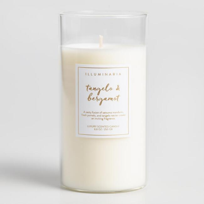Tangelo and Bergamot Kraft Box Filled Jar Candle