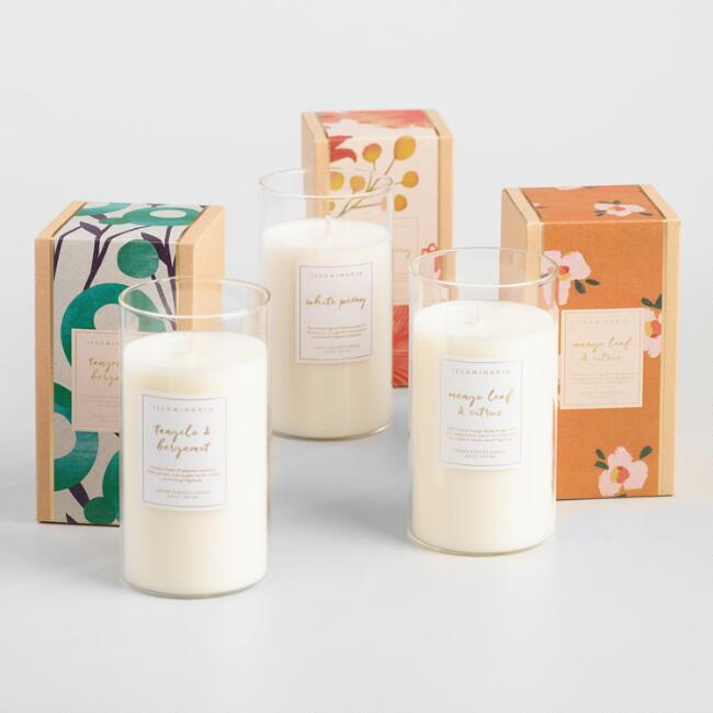 Kraft Box Filled Jar Candle Collection