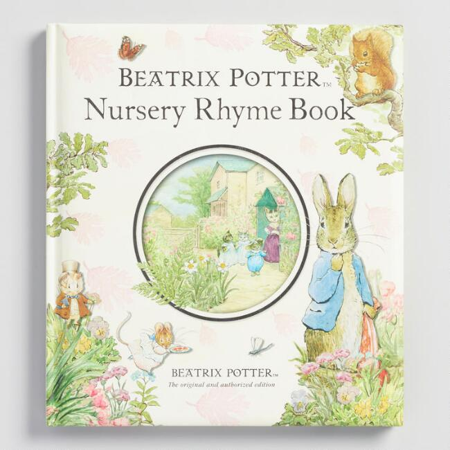 Beatrix Potter Nursery Rhyme Hardcover Book
