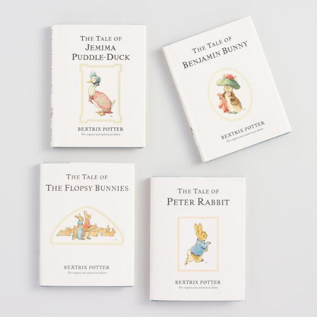 Mini Peter Rabbit Story Books Set of 4