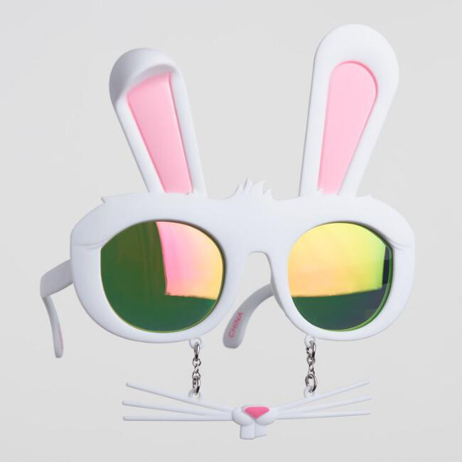 Easter Bunny Sunstache Sunglasses