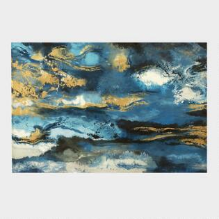 Wall art by subject modern paintings maps kitchen art world market horizon at sunset framed canvas wall art gumiabroncs Gallery