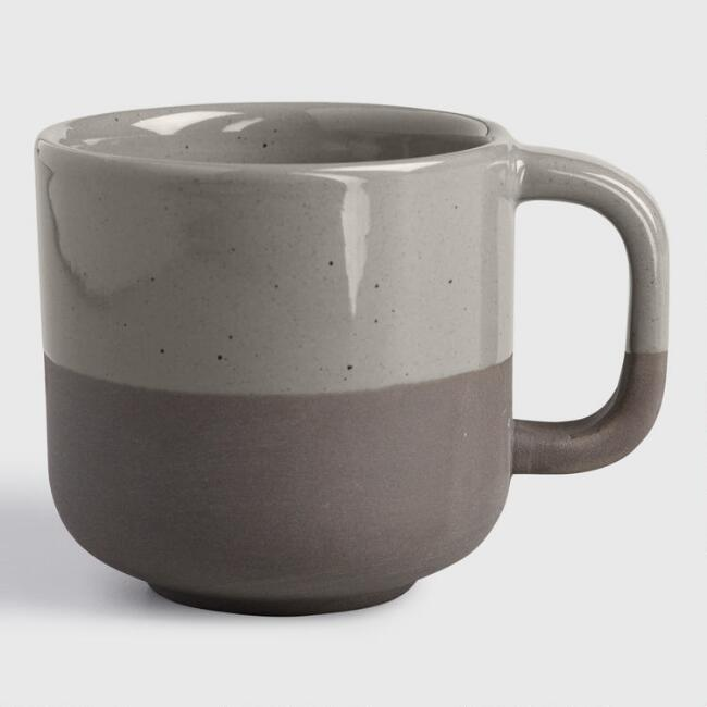 Sage Matte Stoneware Sarai Mugs Set of 4