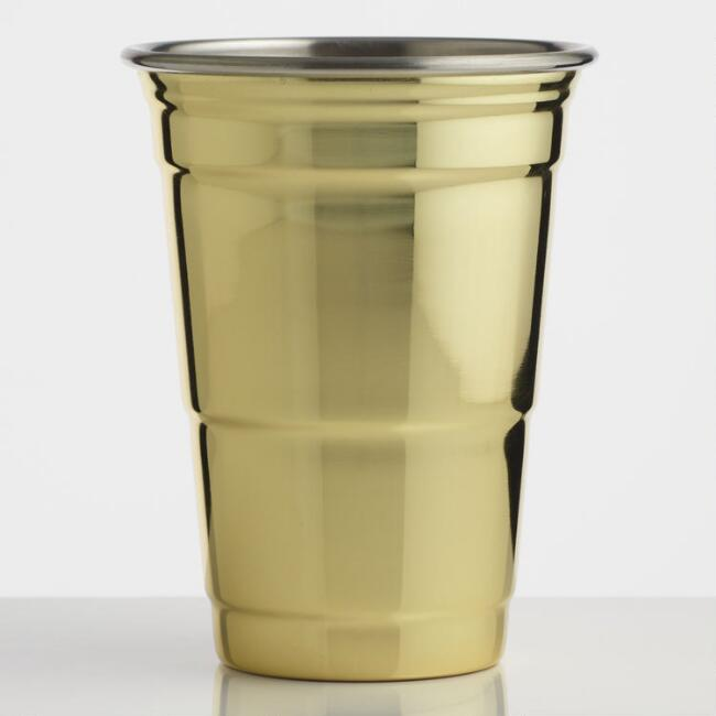 Fred Gold Party Cup