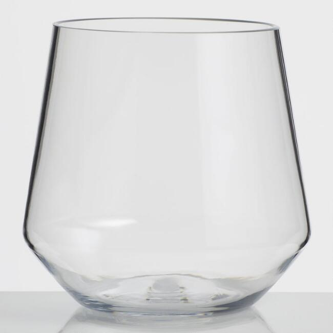 Napa Tritan Stemless Wine Glasses Set of 6