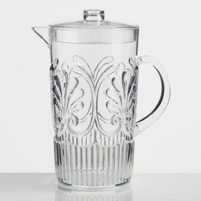 Gray Pacific Acrylic Drink Pitcher