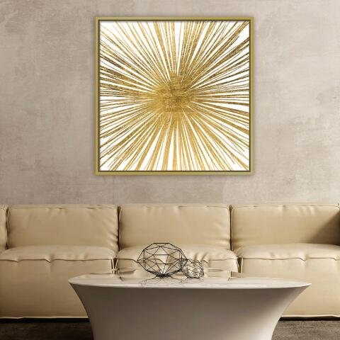 4ef3d0981c5 Golden Ray Wall Art in Gold Frame. Previous. v2