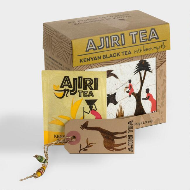 Ajiri Kenyan Black Tea with Lemon Myrtle 20 Count