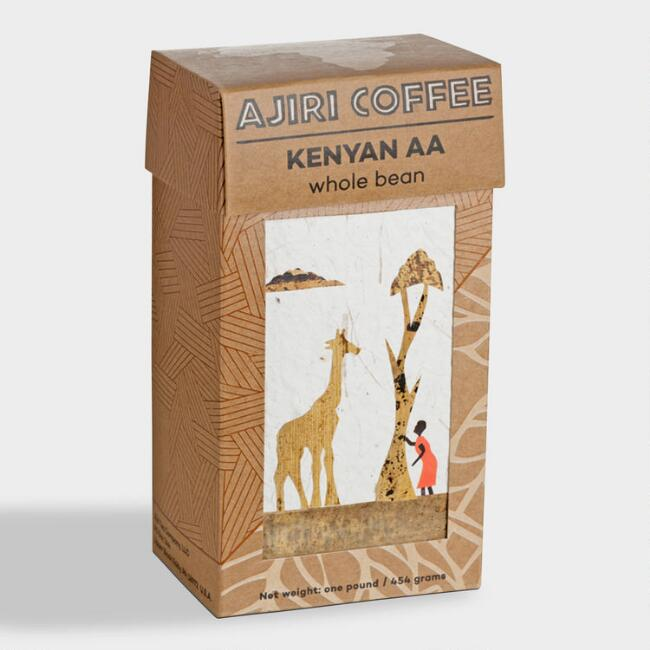 Ajiri Kenyan AA Whole Bean Coffee