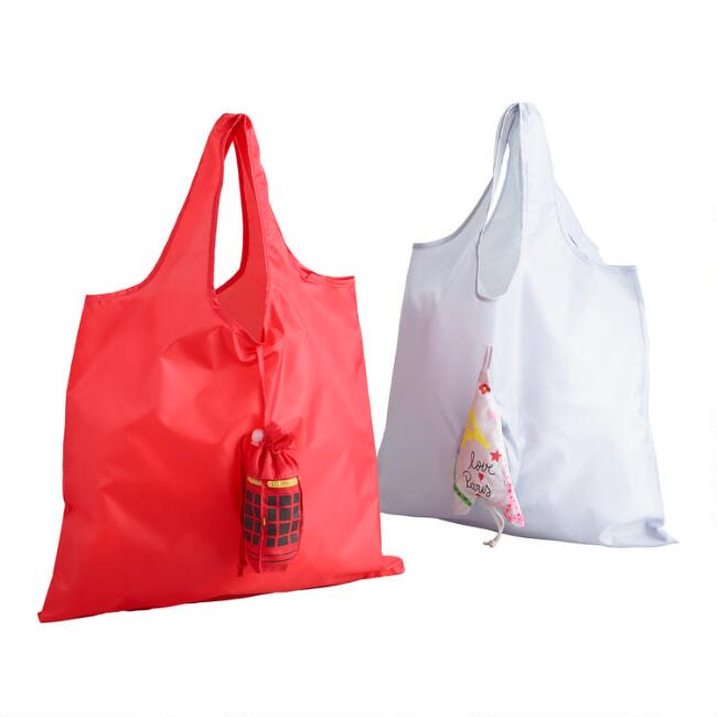 Paris and London Foldable Tote Bags Set of 2