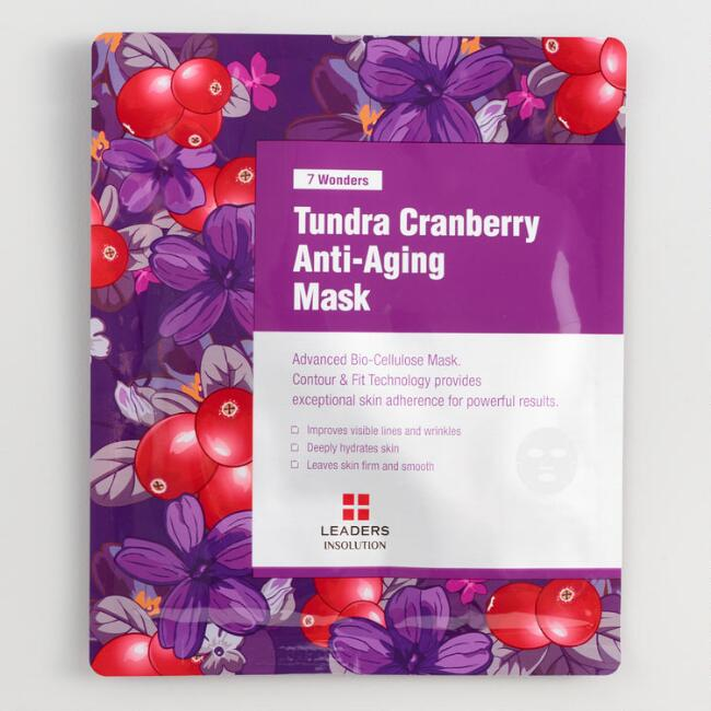 Tundra Cranberry Anti Aging Korean Beauty Sheet Mask