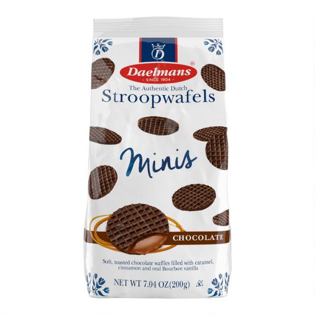 Daelmans Mini Chocolate Caramel Stroopwafel Bag