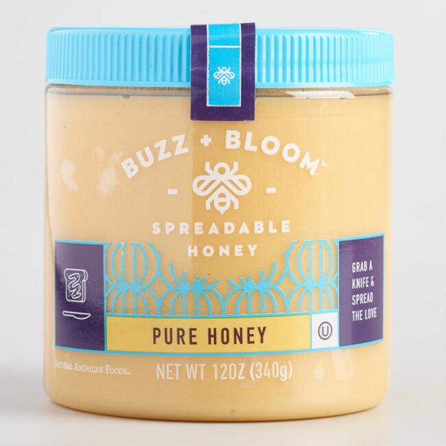 Buzz & Bloom Spreadable Pure Honey